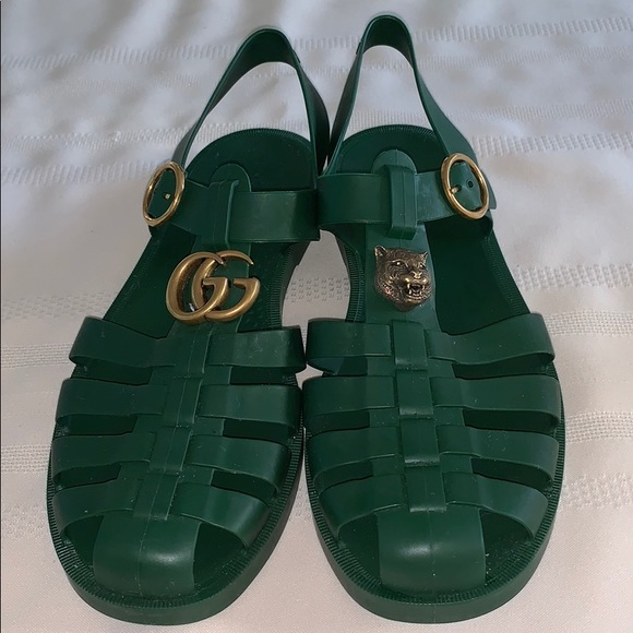b935a631d02 Gucci Other - Gucci rubber buckle strap sandal